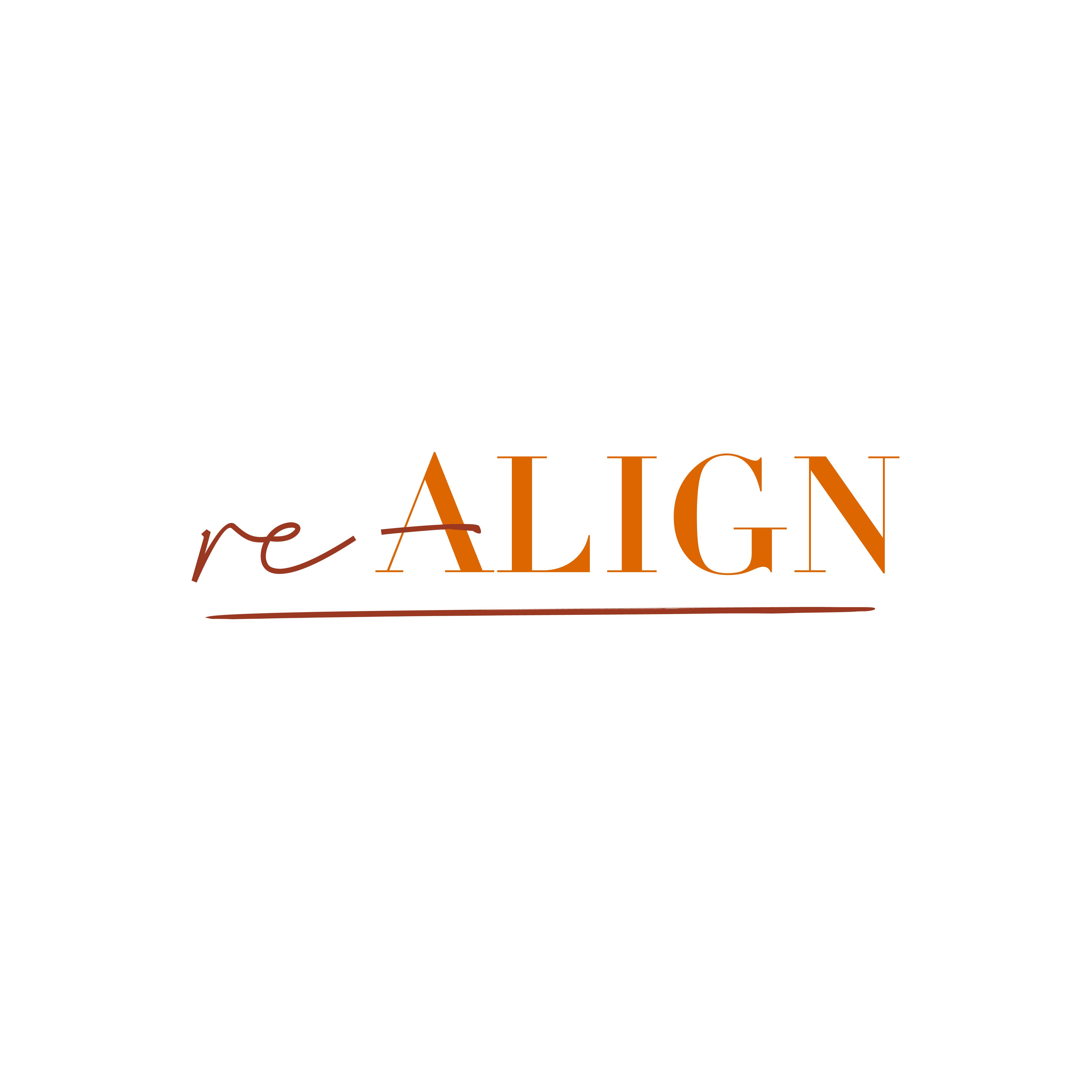 Logo en huisstijl Re-Align Coaching