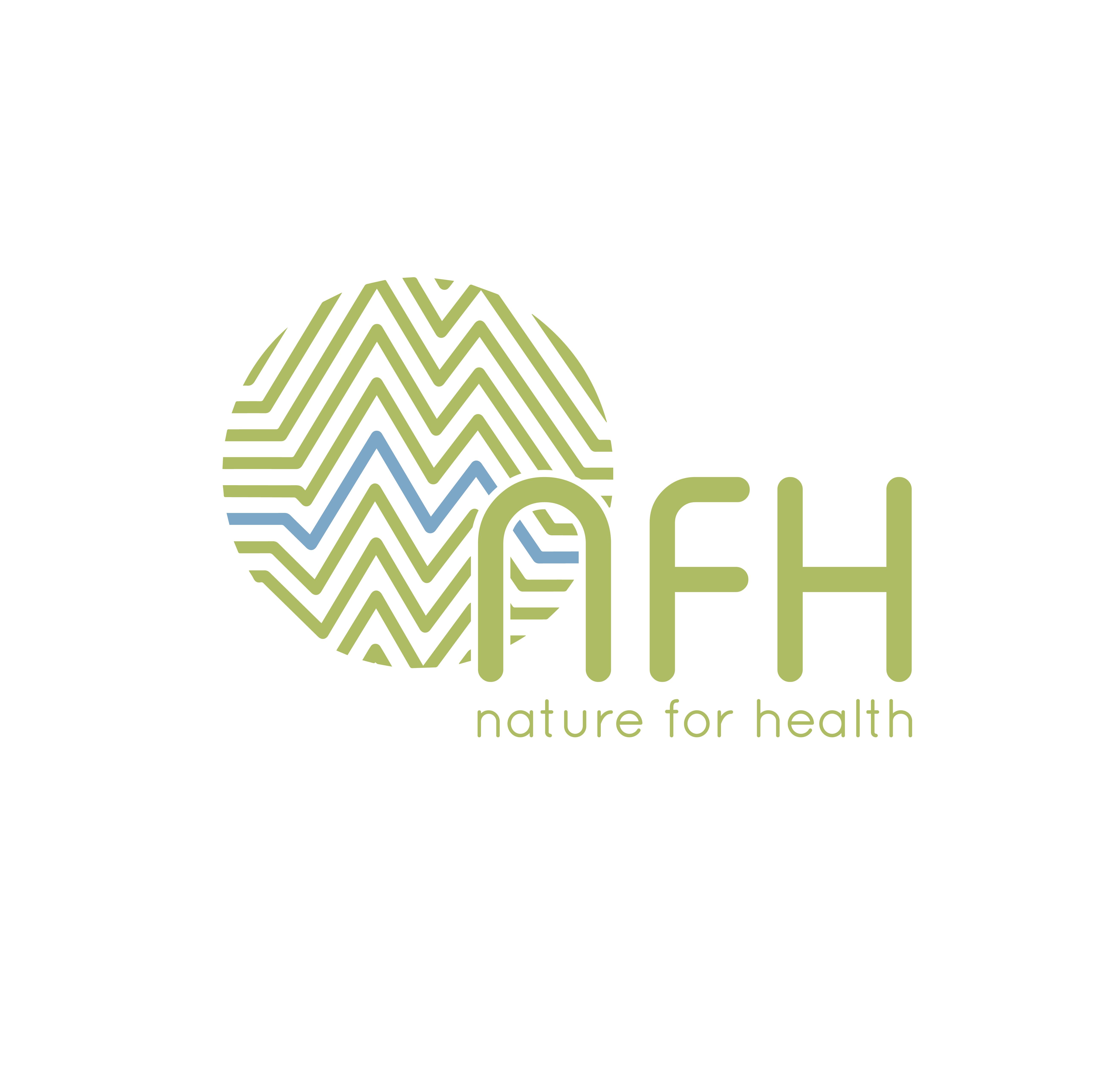 Nature For Health Logo en huisstijl